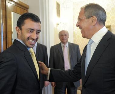 روسيا والامارات العربية تتفقان على الغاء تأشيرات الدخول للدبلوماسيين
