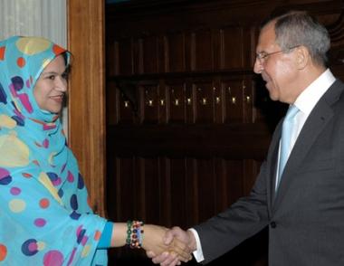 وزيرة الخارجية الموريتانية : الشعوب العربية والافريقية تأمل في دور فاعل لموسكو لدفع عملية السلام في الشرق الاوسط