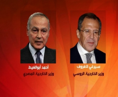 لافروف يبحث مع نظيره المصري تطورات عملية السلام