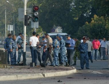 إصابة عدد من رجال الشرطة والمدنيين في انفجار بالشيشان
