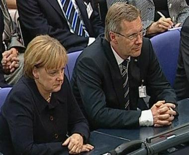 انتخاب رئيس وزراء سكسونيا السفلى كريستيان فولف رئيسا جديدا لألمانيا