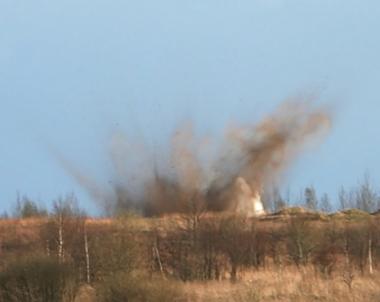 مقتل 6 اشخاص نتيجة انفجار في ميدان تدريب باقليم التاي الروسي