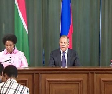 لافروف: روسيا وجمهورية افريقيا الجنوبية تعتزمان الارتقاء بشراكتهما الى المستوى الاستراتيجي