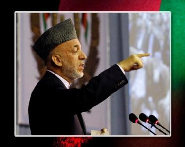 كرزاي يحث حلفاءه الغربيين على ضرب قواعد طالبان في باكستان