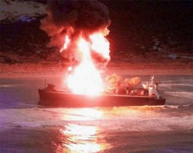امريكا تنفي ضلوعها بحادث ناقلة النفط اليابانية