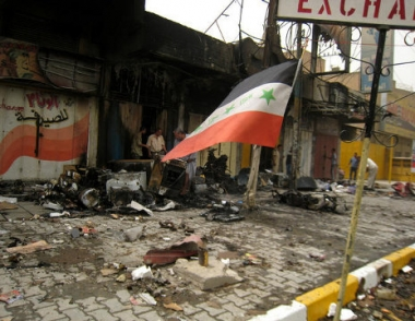 انفجارات واطلاق نار في حي الاعظمية في بغداد تسفر عن وقوع قتلى وجرحى