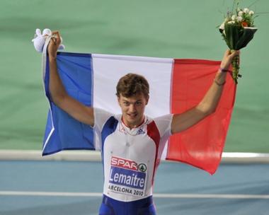 النجم الفرنسي كريستوف لميتر يتوج بذهبية ثانية في برشلونة
