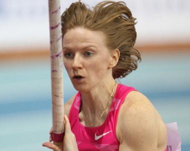 الروسية فيوفانوفا تحرز ذهبية القفز بالزانة في برشلونة