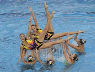 روسيا الأولى في بطولة أوروبا للألعاب المائية