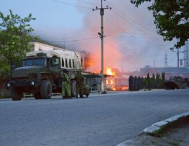 قوات الامن الروسية تقتل زعيم زمرة ارهابية في داغستان