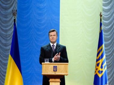 يانوكوفيتش يؤكد تمسك أوكرانيا بتوجهها نحو أوروبا