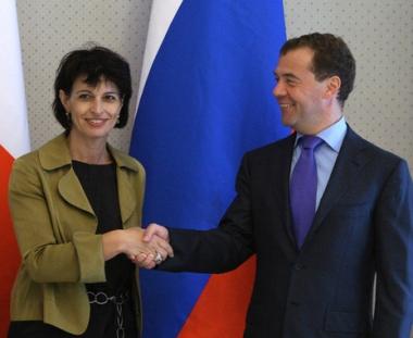 زعيما روسيا وسويسرا يعلنان نيتهما تطوير التعاون الثنائي