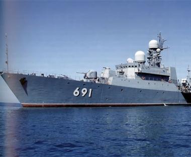 روسيا تصنع سفينة صاروخية جديدة  لحماية منطقتها الاقتصادية