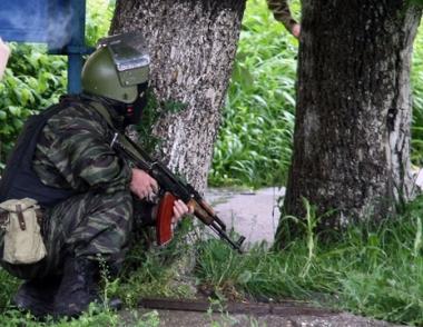 اجراء عملية خاصة بتصفية مجموعة مسلحين في وسط مدينة نالتشيك
