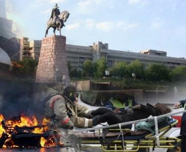 مقتل ضابطين اثنين في الشرطة واصابة 26 شخصا في هجوم انتحاري شمال طاجيكستان