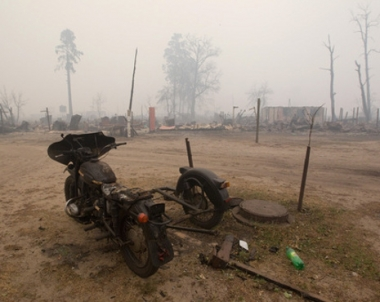 8 قتلى و14 جريحا نتيجة تجدد الحرائق في جنوب روسيا