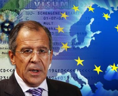 لافروف: روسيا تنتظر من الاتحاد الاوروبي الرد السريع على اقتراحاتها بالغاء تأشيرات الدخول