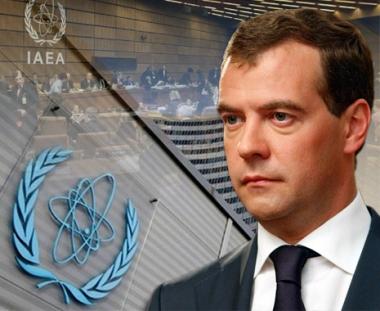 مدفيديف: روسيا تنوي المشاركة في مشاريع تطوير الذرة السلمية