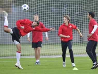 سبارتاك في مواجهة هامة ضمن دوري أبطال أوروبا لكرة القدم