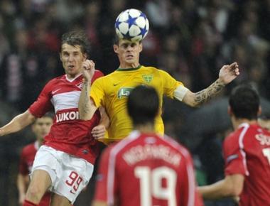 سبارتاك موسكو يحقق فوزه الثاني على التوالي في دوري أبطال أوروبا لكرة القدم