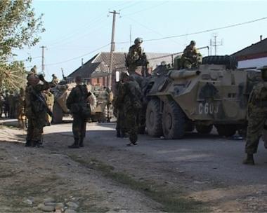 جرح 16 شرطيا روسيا في انفجار بشمال القوقاز