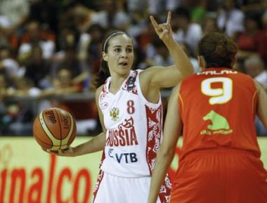 روسيا تواجه بيلوروسيا في ربع نهائي بطولة العالم لكرة السلة