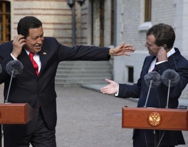 شافيز يصل الى موسكو لبحث توسيع العلاقات الاستراتيجية مع روسيا