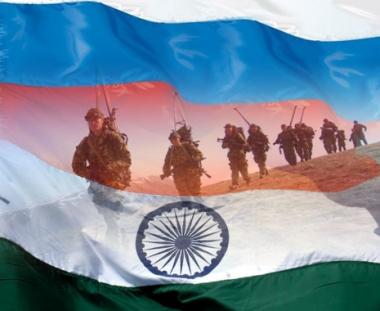 بزات وقاية جديدة للرماة الروس في مناورات تجري بالهند