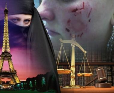 محاكمة فرنسية عضت إماراتية بعد ان نزعت عنها النقاب