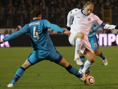 زينيت يحقق فوزه الثالث في الدوري الأوروبي لكرة القدم