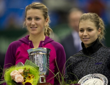 البيلوروسية أزارينكو تفوز في نهائي بطولة كأس الكرملين على الروسية كيريلينكو