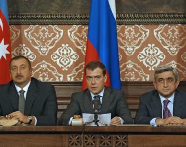 رؤساء روسيا واذربيجان وارمينيا يناقشون تسوية النزاع في قره باغ