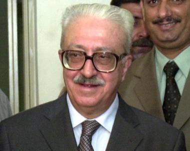 طارق عزيز يوصي بدفنه بالأردن