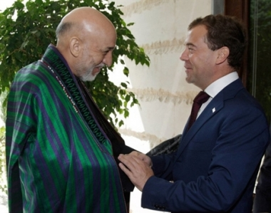 رئيسا روسيا وأفغانستان يدعوان الى زيادة الجهود المشتركة في مكافحة المخدرات