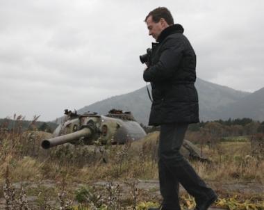 اليابان ترفض توقيع بروتوكول التعاون الاقتصادي مع روسيا احتجاجا على زيارة مدفيديف لجزر الكوريل