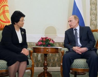 بوتين: يتعين على روسيا وقرغيزيا الارتقاء بالعلاقات الى الشراكة العملية الطبيعية