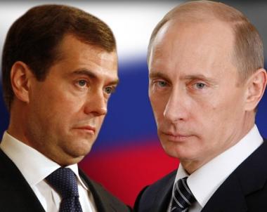 بوتين: سنتخذ قرارا منسقا مع مدفيديف في مسألة المرشح القادم لرئاسة البلد