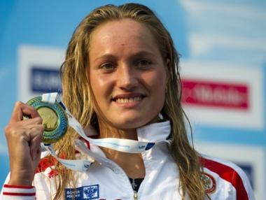 تشوان تحرز باكورة ذهبيات روسيا في بطولة أوروبا للسباحة
