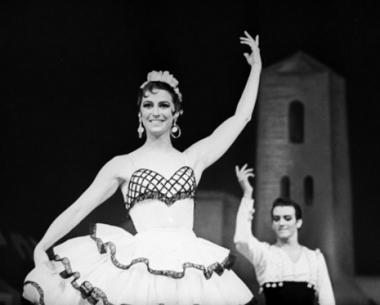 الاحتفال بيوبيل راقصة باليه روسية في تونس