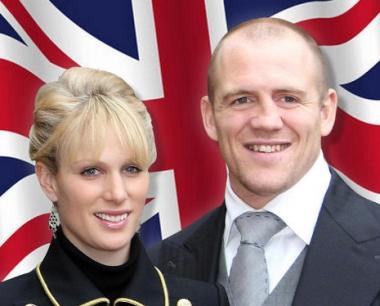 زارا فيليبس حفيدة الملكة البريطانية تتزوج من لاعب ركبي