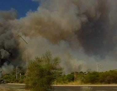 حرائق الغابات تجتاح غربي أستراليا