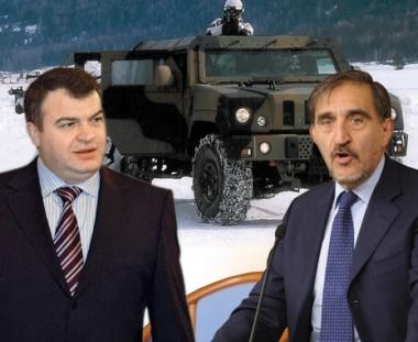 روسيا تشتري 10 عربات مصفحة  لدى شركة