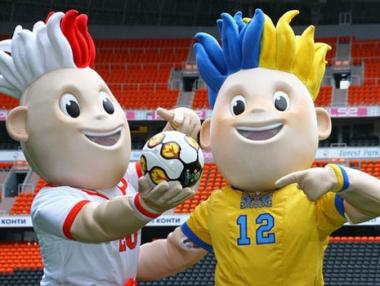 سلافيك وسلافكو رمزا يورو 2012
