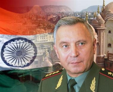 رئيس الاركان العامة الروسي يبحث في الهند التعاون العسكري بين البلدين