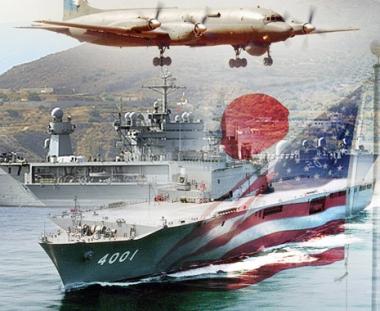 مقاتلات يابانية وامريكية تعترض طائرتين روسيتين في البحر الاصفر