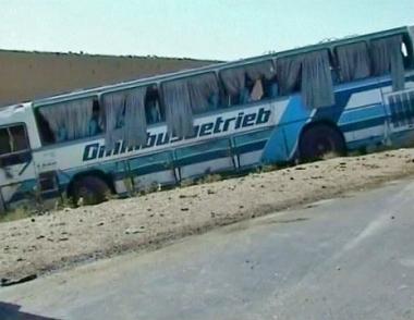 مقتل 15 مدنيا في انفجار حافلة جنوب أفغانستان