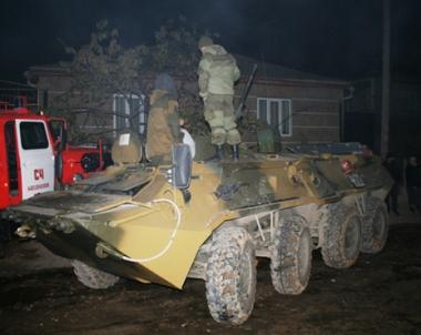 القضاء على ثلاثة مسلحين من بينهم زعيم مجموعة اجرامية في داغستان