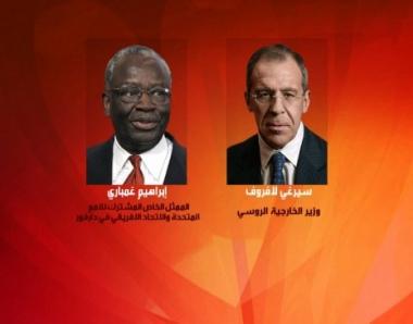 لافروف وغمباري يبحثان الوضع في السودان عشية الاستفتاء