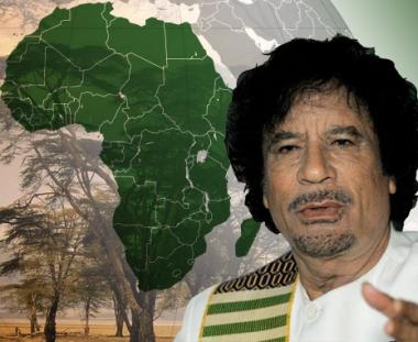 القذافي يقترح تكوين جيش افريقي موحد قوامه مليون جندي