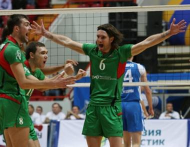 لوكوموتيف الروسي يحقق فوزه الثالث في دوري أبطال أوروبا للكرة الطائرة